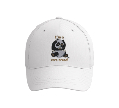 Embroidered Youth Baseball Cap Hat - Lil' Cub Hub Baby Panda Bear - Original Design and Saying