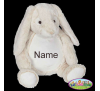 Personalized Baby Gift Stuffed Animal, Easter Bunny Rabbit Stuffie Keepsake Baby Cubbies Monogrammed, Baby Shower Gift, Appliqué