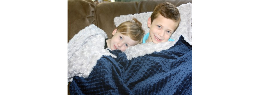Minky Blankets & Throws