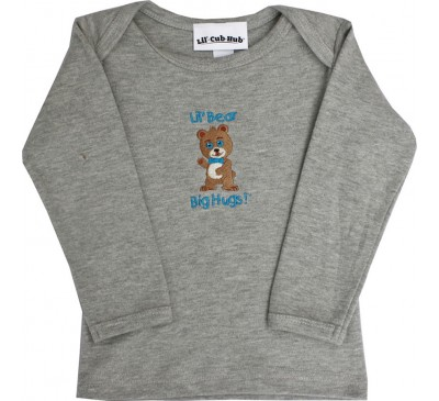 Boy Bear - Long-Sleeve Grey T-Shirt